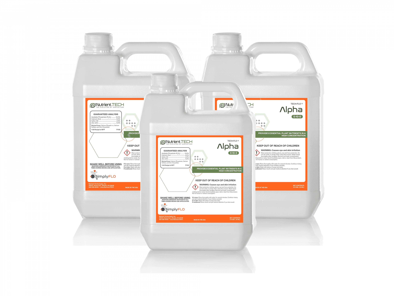 Alpha in 3 jugs
