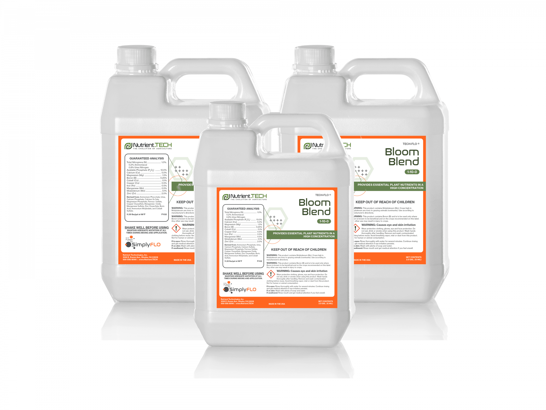 Bloom Blend in 3 jugs
