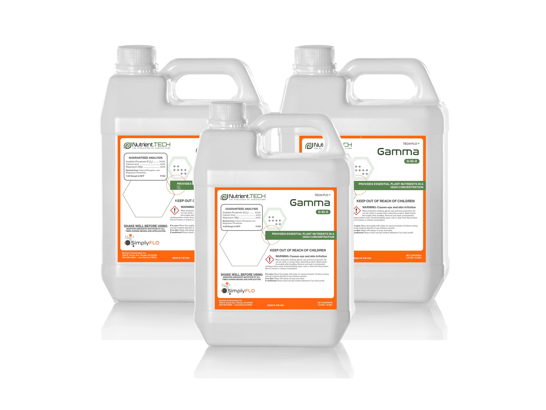 Gamma in 3 jugs