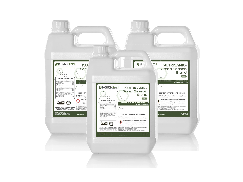 NUTRIGANIC Green Season Blend in 3 jugs