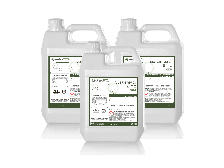 NUTRIGANIC Zinc in 3 jugs